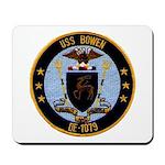 USS BOWEN Mousepad