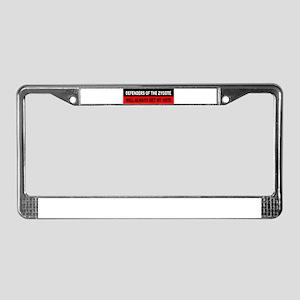 Republican License Plate Frame