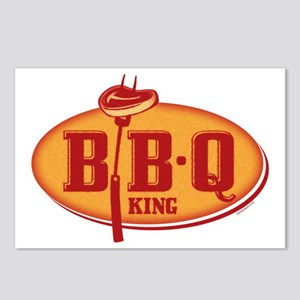 BBQ King Postcards (Package of 8)