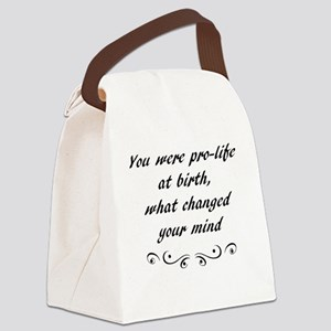 Babies anti-abortion Canvas Lunch Bag