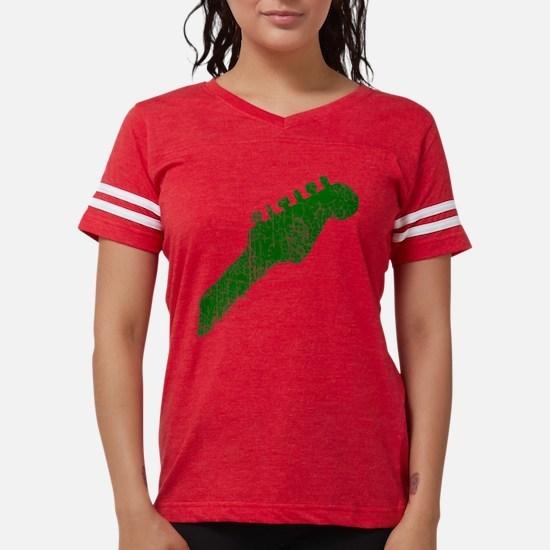 guitar headstock green2 T-Shirt