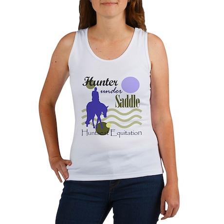 Hunter in periwinkle Women's Tank Top