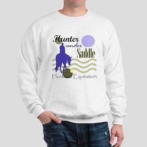 Hunter in periwinkle Sweatshirt