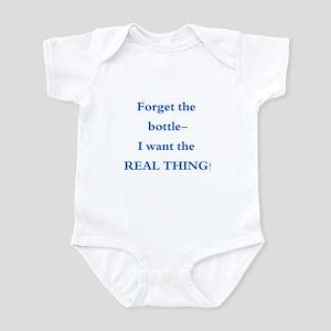Baby- Forget the Bottle Infant Bodysuit