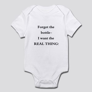 Baby- Forget the Bottle Infant Bodysuit