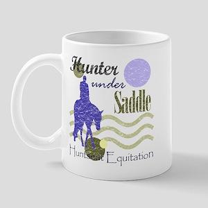 Distressed hunter in lavendar Mug