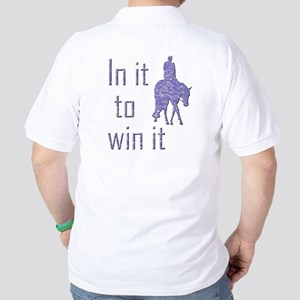 In it to win it hunter Golf Shirt