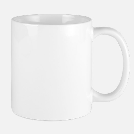 Hunter horse in brown Mug