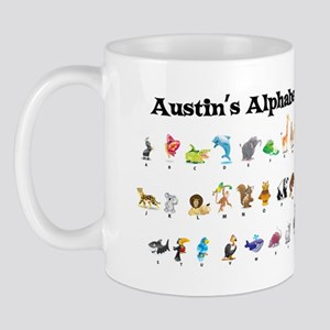 Austin's Animal Alphabet Mug