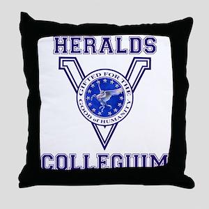 Herald Collegium Throw Pillow