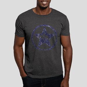 Texas star english horse Dark T-Shirt