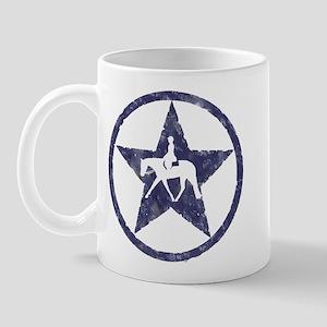 Texas star english horse Mug