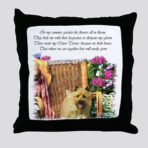 Cairn Terrier Art Throw Pillow