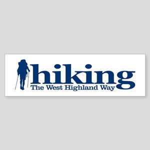 West Highland Way Bumper Sticker