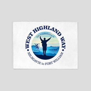 West Highland Way 5'x7'Area Rug