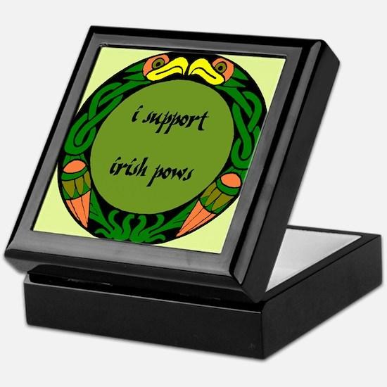 SUPPORT IRISH POWs Keepsake Box