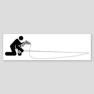 """Universal Angler"" Sticker (Bumper)"