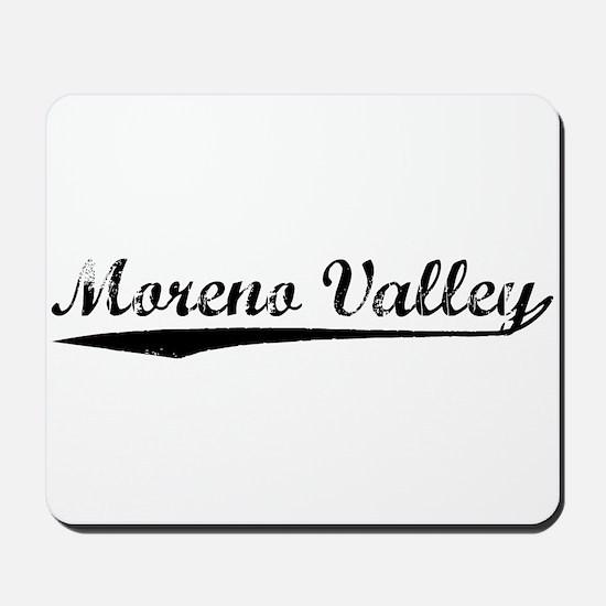 Vintage Moreno Val.. (Black) Mousepad