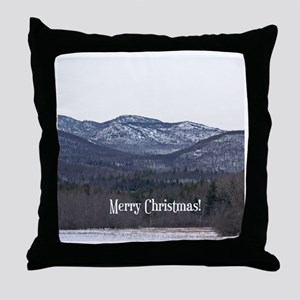 Adirondack Christmas Throw Pillow