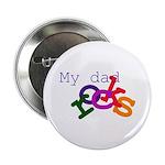 My dad rocks Button
