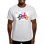 My dad rocks Ash Grey T-Shirt