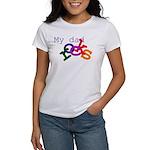 My dad rocks Women's T-Shirt