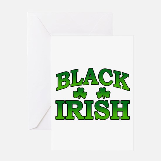 Once You go Irish You Never Go Back Greeting Card