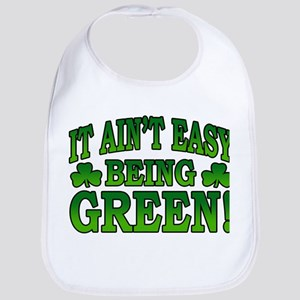 It Ain't Easy being Green Bib