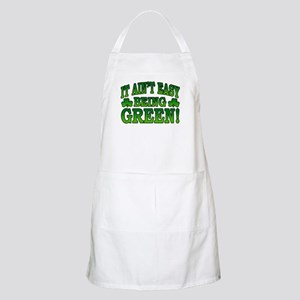 It Ain't Easy being Green BBQ Apron