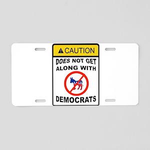 LICENSED Aluminum License Plate