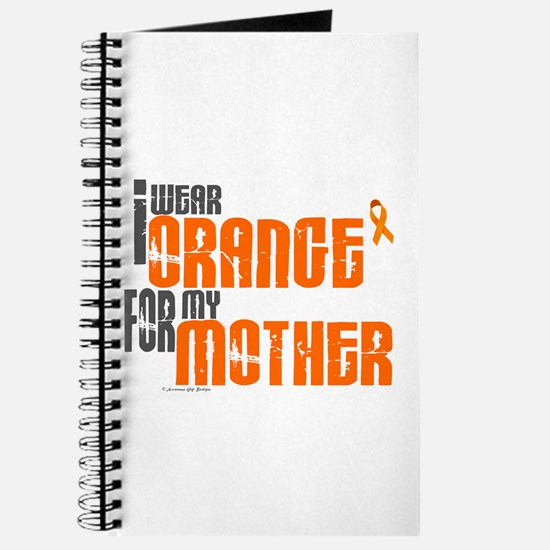 I Wear Orange For My Mother 6 Journal