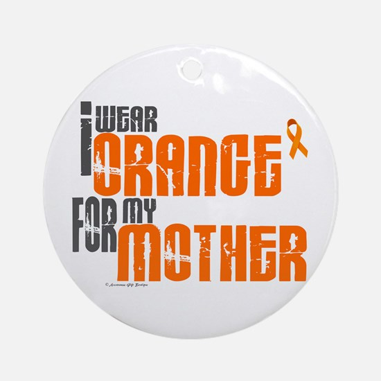 I Wear Orange For My Mother 6 Ornament (Round)