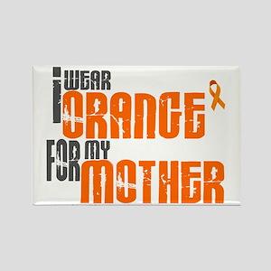 I Wear Orange For My Mother 6 Rectangle Magnet