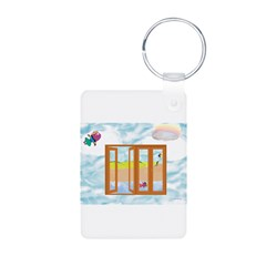 Door to the sky Keychains