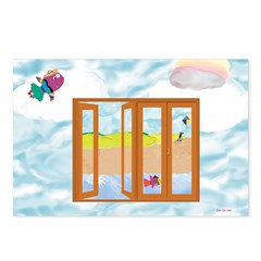 Door to the sky Postcards (Package of 8)