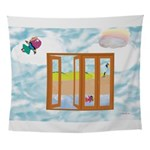 Door to the sky Wall Tapestry