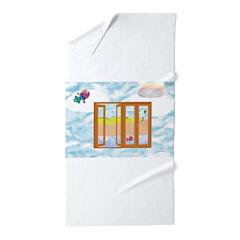 Door to the sky Beach Towel