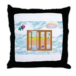 Door to the sky Throw Pillow