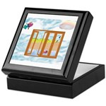 Door to the sky Keepsake Box