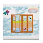 Door to the sky Tile Coaster