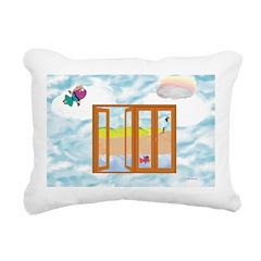 Door to the sky Rectangular Canvas Pillow
