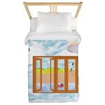 Door to the sky Twin Duvet Cover