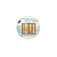 Door to the sky Mini Button (100 pack)
