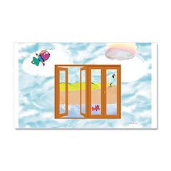 Door to the sky Car Magnet 20 x 12