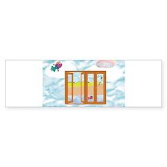 Door to the sky Bumper Bumper Sticker