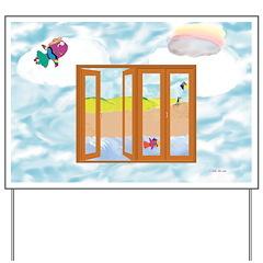 Door to the sky Yard Sign