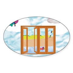 Door to the sky Decal