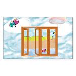 Door to the sky Sticker