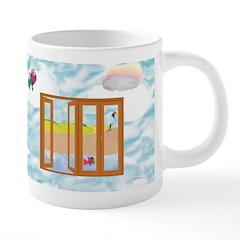 Door to the sky Mugs