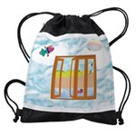Door to the sky Drawstring Bag